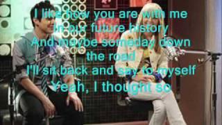 Miley Cyrus & David Archuleta - I Wanna Know You with Lyrics