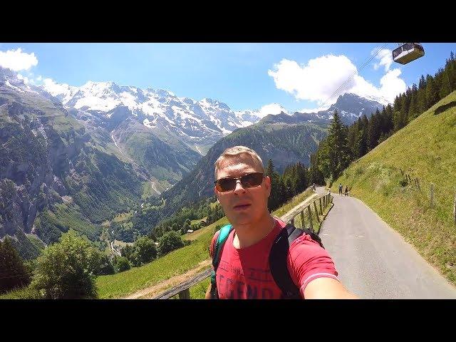 Долина 72-х водопадов, Интерлакен Швейцария