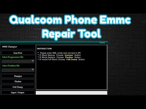 Collection Of All Qualcomm EMMC Programmer Files | For free