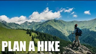 Five Steps to Planning a Hike #hiking #backpacking