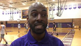 Swan Valley coach Jason Brown talks about Saginaw High experience