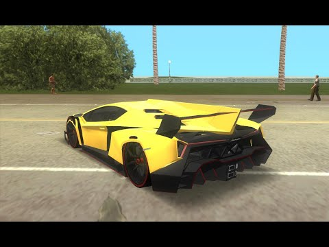 GTA Vice City: How To Get A Lamborghini Cheat