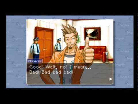 Dare You Object To Some Phoenix Wright: Wii Videos?