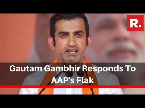 Delhi Pollution: BJP MP Gautam Gambhir Responds To AAP's Flak, Says 'False Narratives By CM'