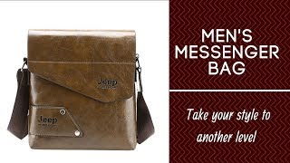 Mens Messenger Bag Small, Take Your Style To Another Level