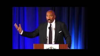 Steve Harvey on the Donald Trump Visit