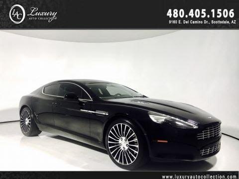 Pre-Owned 2012 Aston Martin Rapide Luxury Sedan