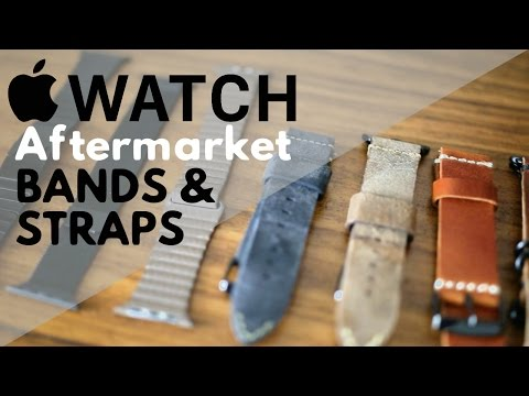Our Favorite Bands for Apple Watch Series 2 and 1!
