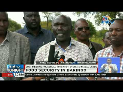 Baringo county banking on irrigation projects to eradicate hunger
