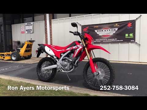 2020 Honda CRF250L in Greenville, North Carolina - Video 1