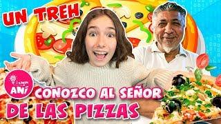 🍕 ¡¡HAGO UNA PIZZA EN LA BRICIOLA!! 🍽 ¡CONOZCO A PINO PRESTANIZZI! * UN TREH