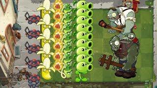 Plants vs Zombies 2 - Banana Launcher, Wasabi Whip, Peashooter