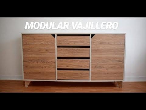 Mueble modular vajillero