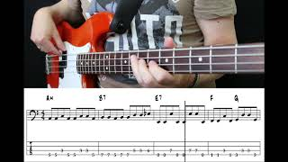 Muse   Time Is Running Out (Bass Cover With Tabs)