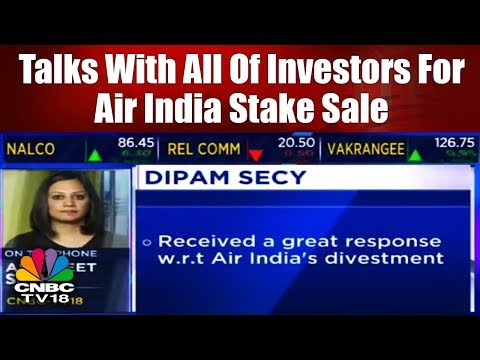 Air India Divestment: Talks With All Of Investors For Air India Stake Sale | CNBC TV18