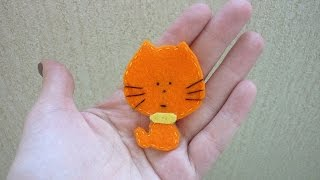 How To Make A Mini Cat From Felt - DIY Crafts Tutorial - Guidecentral