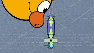❗❓Наука для детей - Как это работает - Микроскоп | Смешарики Пин-код - Испытание