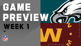 Philadelphia Eagles vs. Washington Football Team Week 1 NFL Game Preview