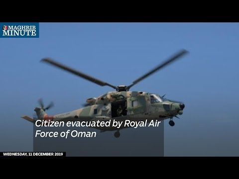 Citizen evacuated by Royal Air Force of Oman