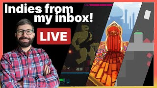 Youtube thumbnail for [Stream] Indies from my inbox 1