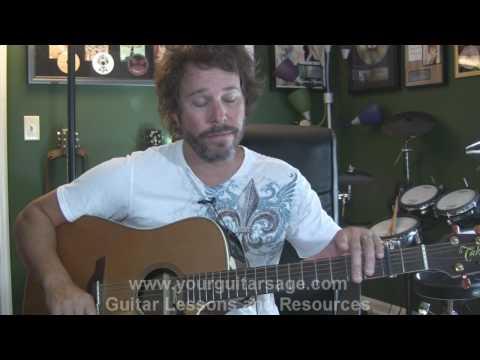 Thunder by Boys Like Girls - Guitar Lessons for Beginners Acoustic songs