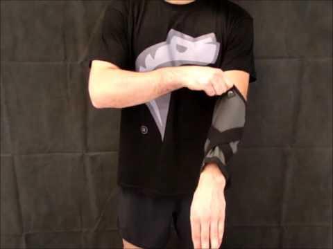 Contrattura post-traumatica della caviglia destra