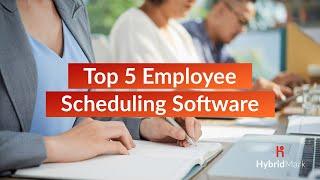 Top 5 Employee Scheduling Software 2020