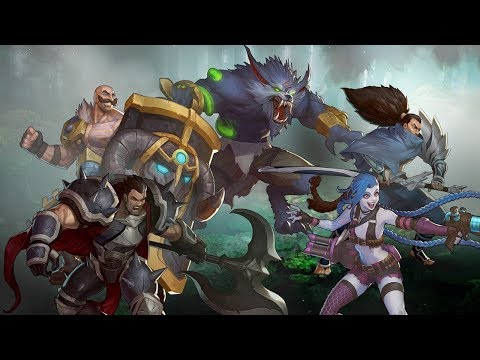 a video on League of legends gameplay
