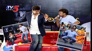 Singer Mallikarjun Imitates Chiranjeevi Dance | Chiranjeevi Birthday Special Interview : TV5 News