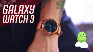 Samsung Galaxy Watch3 Review: Best Android smartwatch for 2020!