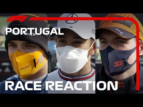 F1第3戦ポルトガルGP(ポルティモア)決勝レースを終えたドライバーのインタビュー動画