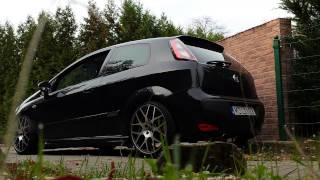 Fiat Punto Evo Turbo 60 mm straight pipe exhaust, no mufflers