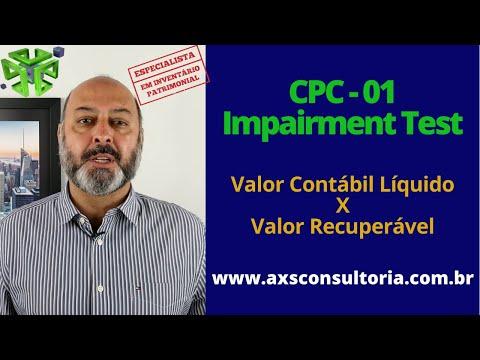 CPC-01 - O Teste de Impairment Consultoria Empresarial Passivo Bancário Ativo Imobilizado Ativo Fixo