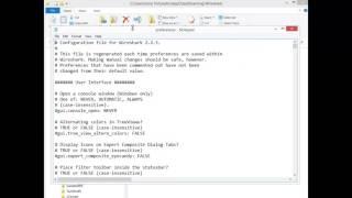 Getting Back Window Title in Wireshark 2