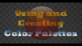 GIMP Tutorial - Color Palettes - Create, Use, Edit, and Importing Color Palettes - XDTutorials.com -