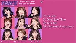 트와이스 (TWICE)   ONE MORE TIME [SINGLE ALBUM)