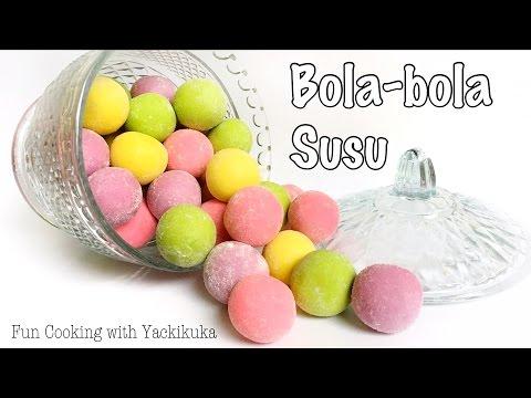 Video IDE KUE LEBARAN * Bola-Bola Susu * Milk Balls Cookies