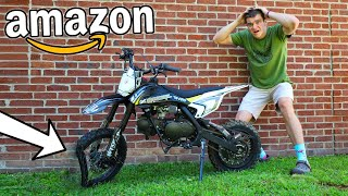 TORTURE TESTING the CHEAPEST Dirt Bike on AMAZON!