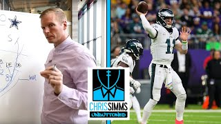 NFL Week 7 Cheat Sheet: How Eagles can exploit Cowboys defense | Chris Simms Unbuttoned | NBC Sports