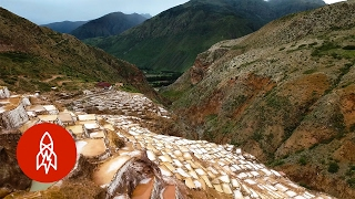 The Ancient Salt Pans of Peru