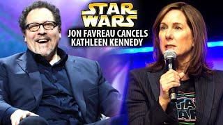 Jon Favreau Just Cancelled Kathleen Kennedy! (Star Wars Explained)