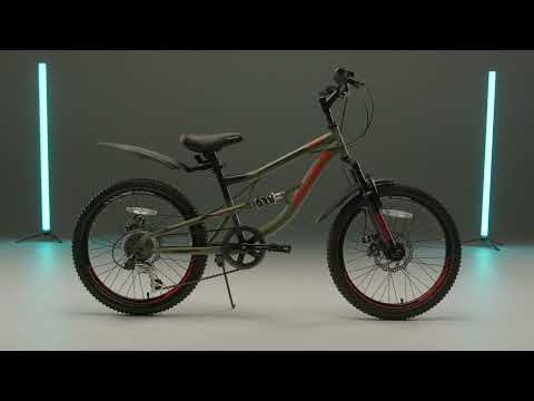 """Велосипед подростковый 20"""" FS 275 DISC ST 6ск RUSH HOUR"""