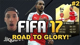FIFA 17 ULTIMATE TEAM WALCOTT THE MAN IN FORM #1 (FIFA ROAD TO GLORY)