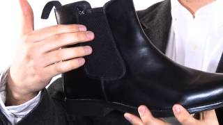 Chelsea Boots Mens Real Leather Boots