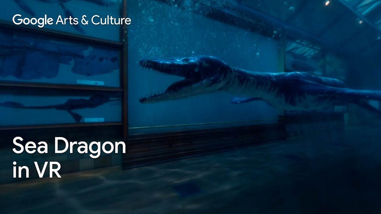 Rhomaleosaurus: Back to Life in Virtual Reality #PreviouslyOnEarth