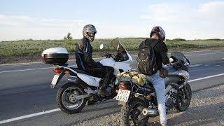 Путешествие на мотоциклах Тольятти - Казахстан/ Рассказы о местных