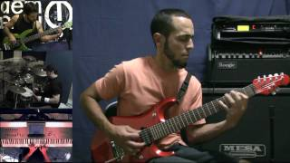 Dream Theater - A Nightmare to Remember - Thiago Campos - Black Clouds & Silver Linings - GUITAR