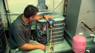 Using A Testo 550 Digital Manifold To Charge An AC System