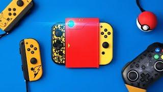 Pokémon Let's Go Nintendo Switch Accessories!