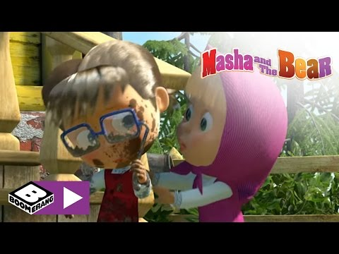 Download Masha and the Bear | Two Much | Boomerang Africa HD Mp4 3GP Video and MP3